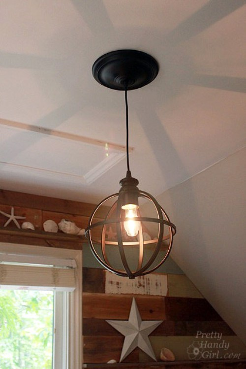 Converting Recessed Light to Pendant Light - Best Lighting DIYs - Pretty Handy Girl