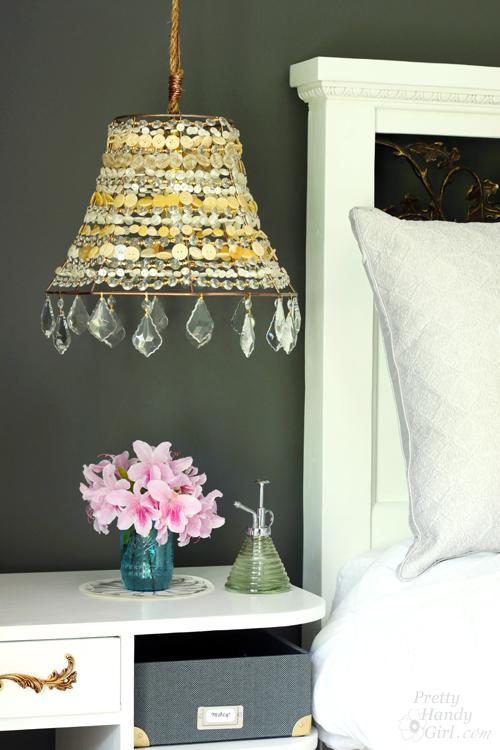 DIY Button Pendant Light - Best Lighting DIYs - Pretty Handy Girl