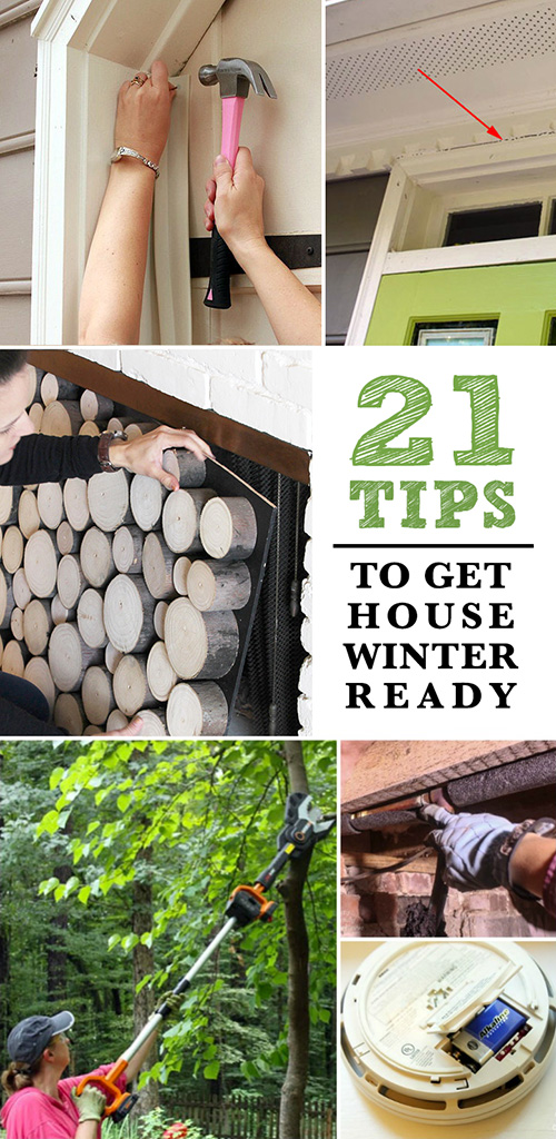 21 Tips to Get Your House Winter Ready