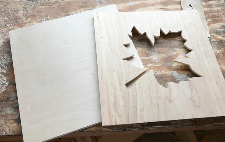Diy Scrap Wood Fall Sign Pretty Handy Girl