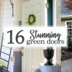 16 Stunningly Beautiful Green Doors
