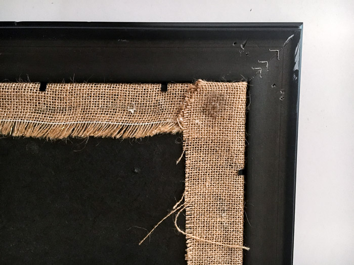 How to make a cork bulletin board