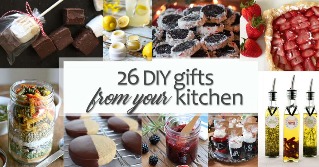26 Creative Diy Gifts From Your Kitchen Pretty Handy Girl
