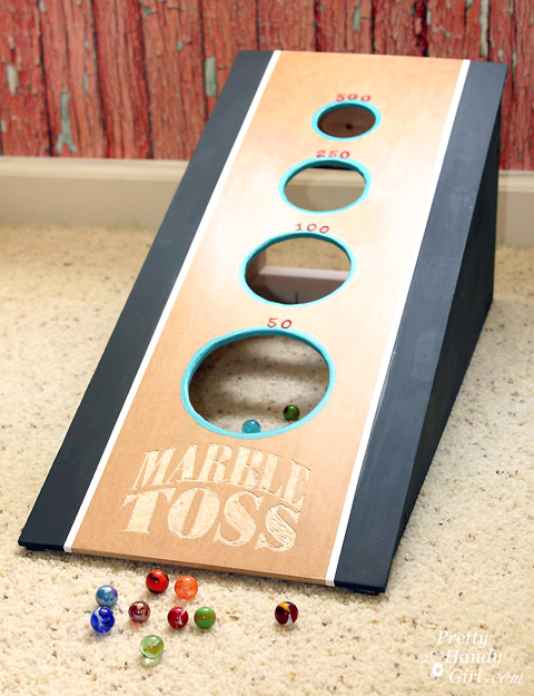 Marble toss