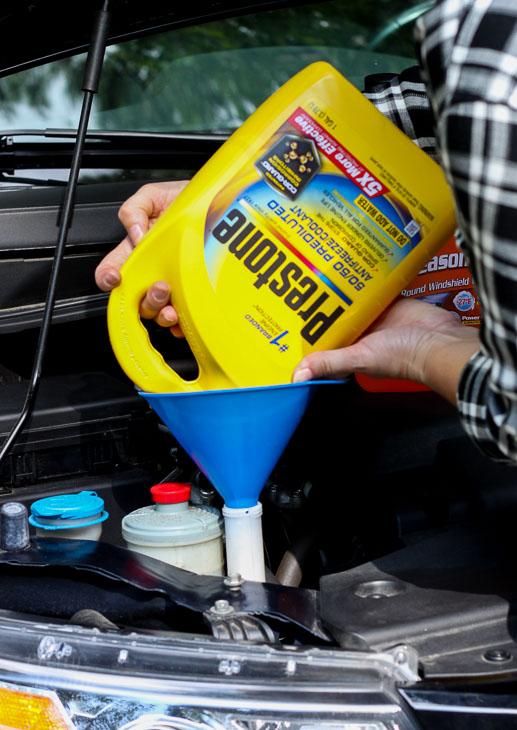 Add AntiFreeze Coolant