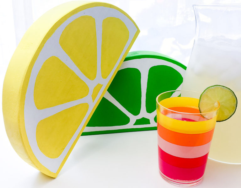 citrus-decor-with-lemonade-768x599