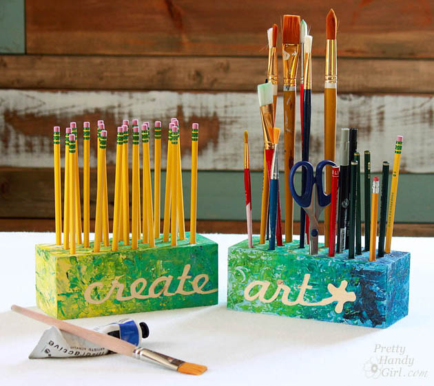 create art block holders