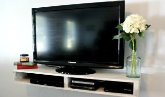 How to Build a Floating TV Shelf