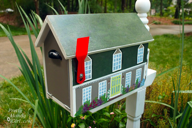 house shaped mailbox promo