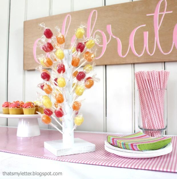lollipop stand
