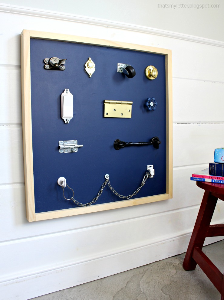 switches and locks board 3