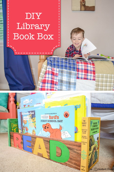 DIY Library Book Box