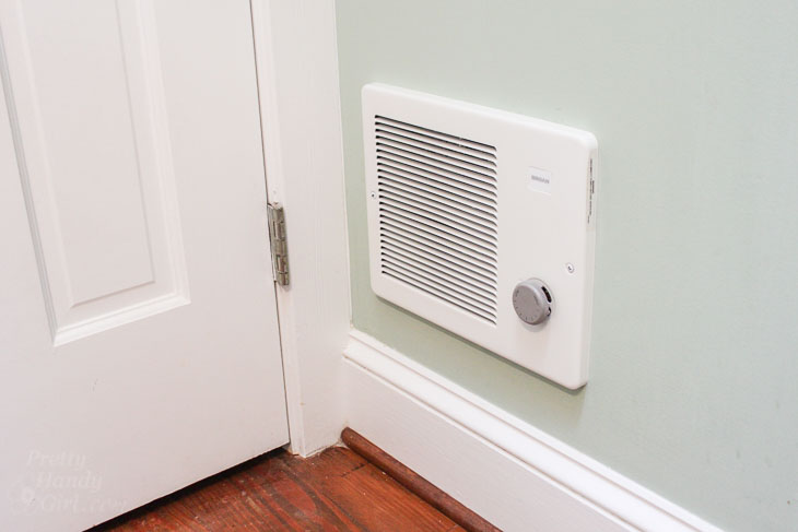 Warm Solution for Cold Rooms in Your House install complete
