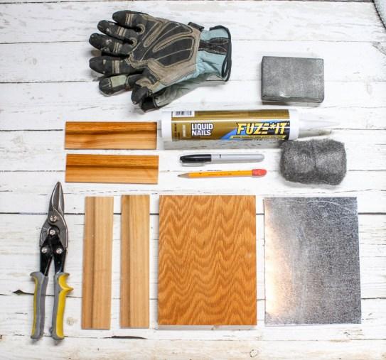 Materials: Sheet Metal Gift Tray