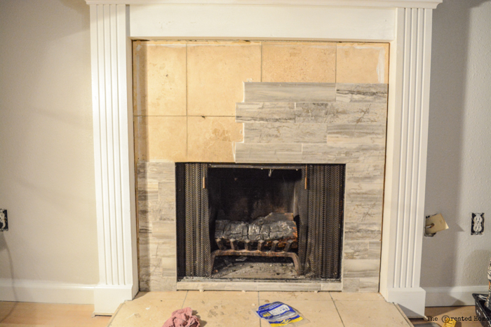 How To Tile A Fireplace Pretty Handy Girl