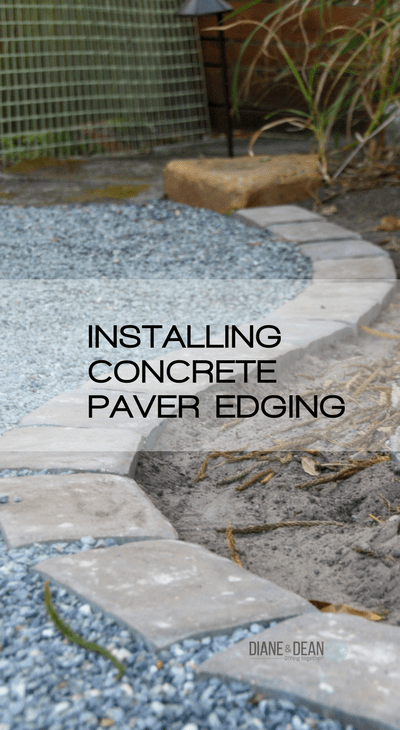 Installing Concrete Paver Edging Pretty Handy Girl
