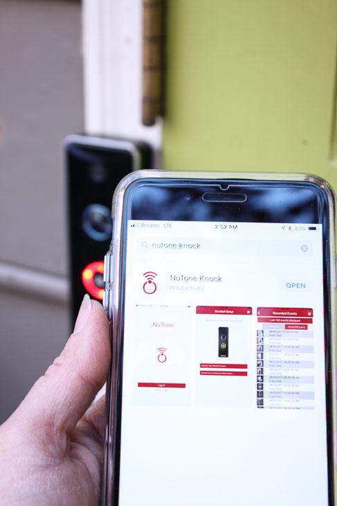 Set up NuTone Smart Video Doorbell Camera