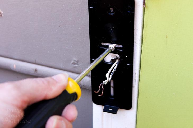 install NuTone Knock mounting bracket