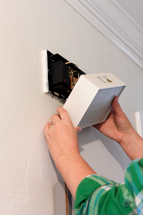 remove doorbell chime cover