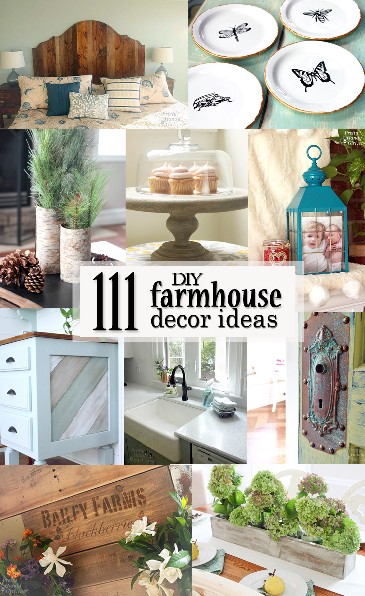 Check Out These 111 DIY Farmhouse Decor Ideas And Get A Ton Of Inspiration  On How