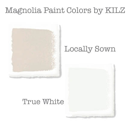 Magnolia Home paint Locally Sown and True White
