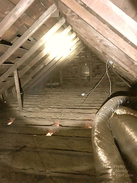 attic view