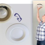 How to Update Ugly Recessed Can Lights with Energy Efficient LED Lights