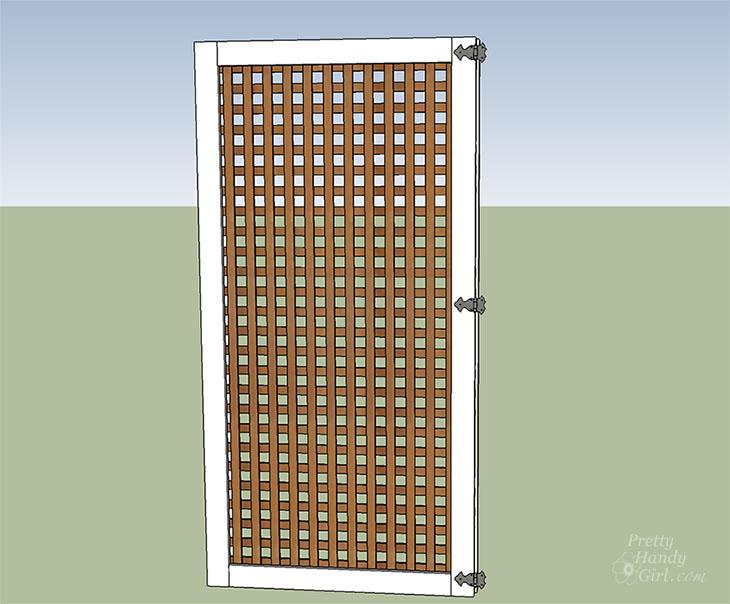 add gate hinges