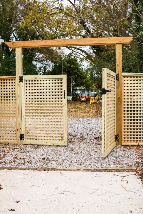 How to Build a Window Pane Lattice Privacy Fence and Gate