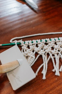 How To Make A Mini Macrame Wall Hanging Pretty Handy Girl