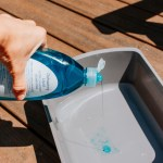 Window Cleaning Solution - Water and Dish Soap
