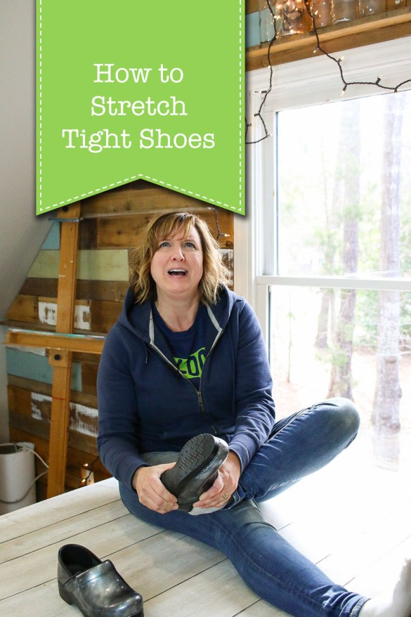 How to Stretch Tight Shoes