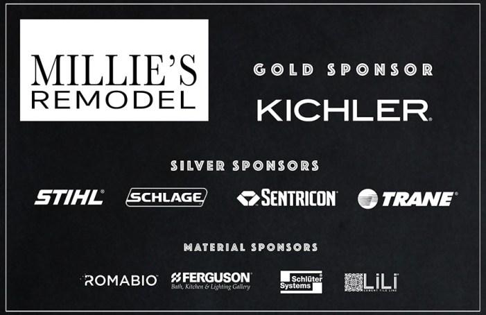 millies remodel sponsors logos