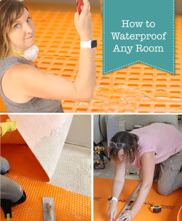 How To Waterproof Floors In Any Room Pretty Handy Girl