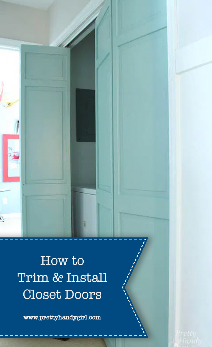 How to Install Trim and BiFold Closet Doors