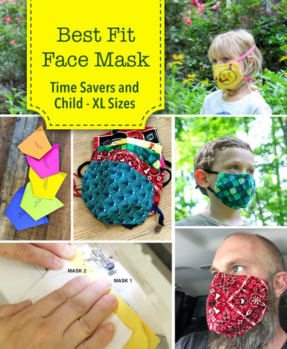 Best Fit Face Mask Time Saver Tips New Sizes