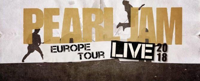 Pearl Jam Europatournee 2018