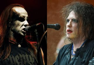 Robert Smith von The Cure und Nergal von Behemoth | (c) Wikipedia Commons