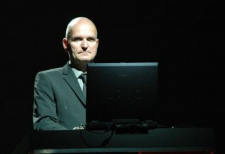 Florian Schneider (Kraftwerk), live in Ferrara, Italien, 07.06.2005 | (c) Daniele Dalledonne