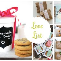 Love List 12/11/15: DIY Cookie Packaging