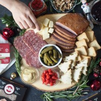 The Perfect Charcuterie Board for the Holidays