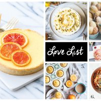 Love List 6/27/18: Orange Blossom Recipes