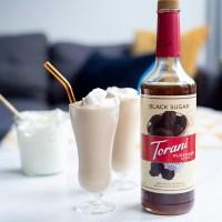 Vietnamese Coffee Shake with Torani Puremade Black Sugar Syrup [Recipe]