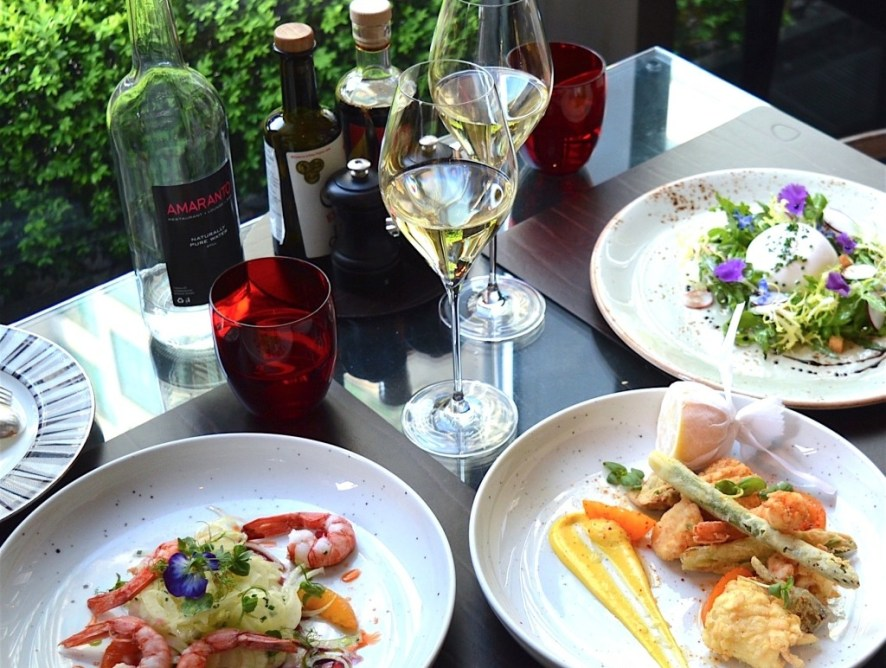 Dinner at Amaranto - Four Seasons Hotel