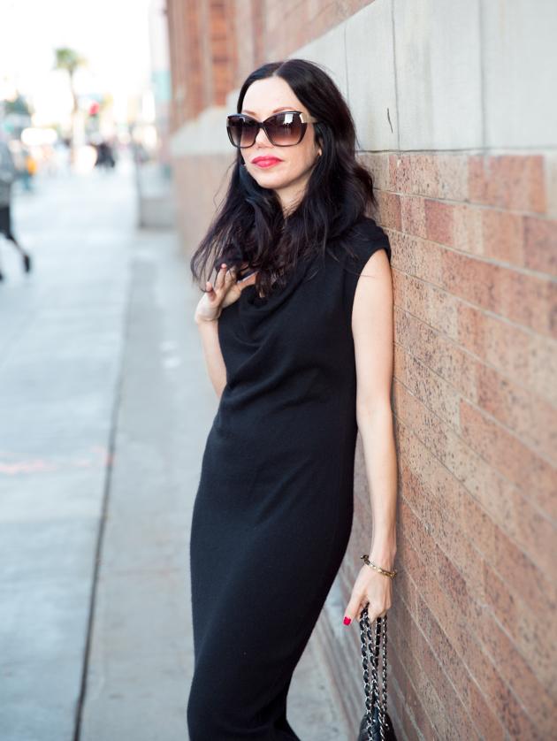Helmut Lang Classic Black Dress