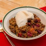 Apple, Pear and Cranberry Crisp with Purely Elizabeth
