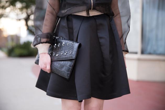 StyleWe Sheer Organza Jacket