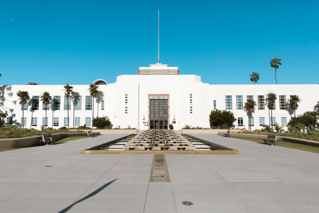 Santa Monica City Hall by Mo Summers Photography