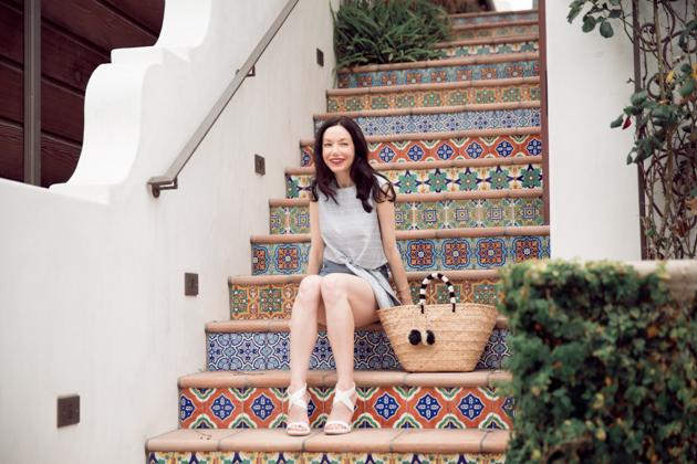Lisa Valerie Morgan from Pretty Little Shoppers Blog