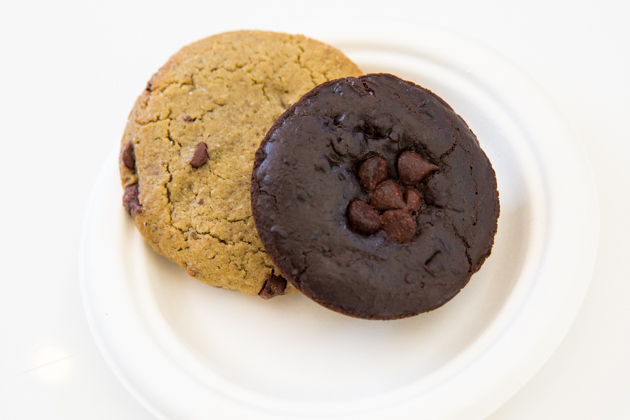 Gluten Free Chocolate Chip Cookie and Black Bean Brownie - Kye's Montana